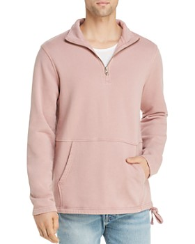 Pacific & Park - Quarter-Zip Fleece Sweatshirt