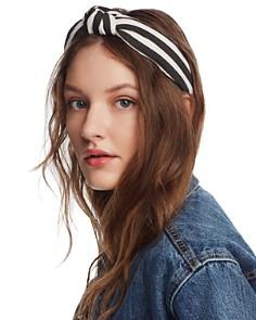 Lele Sadoughi - Striped Knot Headband
