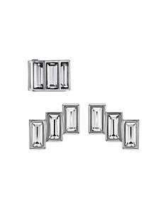 Atelier Swarovski - Core Collection Fluid Azzurro Fringe Earrings & Ear Cuff Set