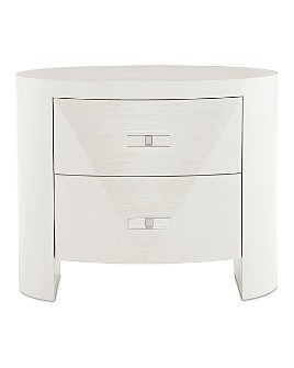 Bernhardt - Axiom Oval Nightstand