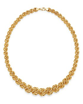 """Bloomingdale's - Graduated Link Necklace in 14K Yellow Gold, 18"""" - 100% Exclusive"""