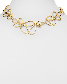 """Bloomingdale's - Pear-Shaped Link Necklace in 14K Yellow Gold, 17"""" - 100% Exclusive"""