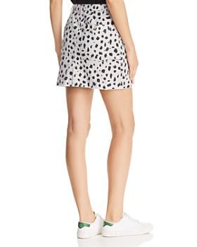 ATM Anthony Thomas Melillo - Cheetah-Print Mini Skirt
