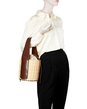 Max Mara - Aisha Small Wicker Bucket Bag