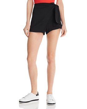 Alice and Olivia - Romanda Tie-Front Skort