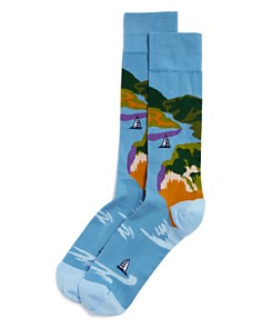 The Men's Store at Bloomingdale's - Landscape Socks - 100% Exclusive