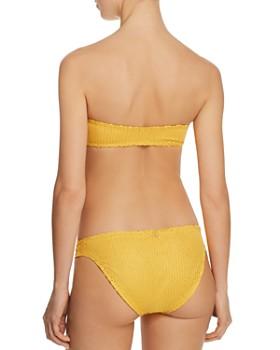 ViX - Gold Scales Bandeau Bikini Top & Gold Scales Bikini Bottom