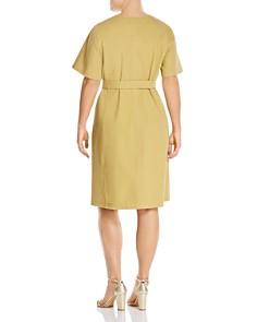 Lafayette 148 New York Plus - Elizabella Zip-Front Dress