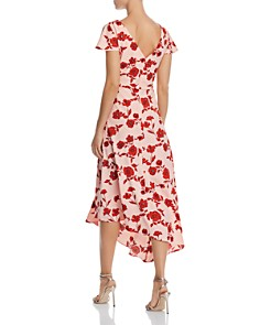 Adrianna Papell - Living Blooms Ruffled Dress