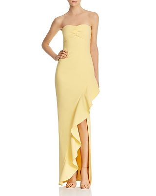 LIKELY - Carissa Strapless Gown
