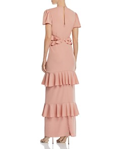 WAYF - Lavina Ruffled Maxi Dress