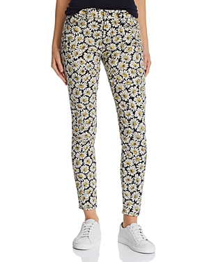 7 For All Mankind Jeans ANKLE SKINNY JEANS IN LAZY DAISIES