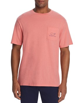 1514c977 Vineyard Vines - Heathered Whale Logo-Print Pocket Tee ...