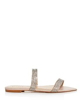SCHUTZ - Women's Jenita Embellished Slide Sandals