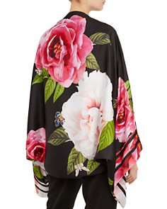 Ted Baker - Kkyra Magnificent Floral Silk Cape Scarf