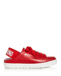 Moschino - Women's Slingback Low-Top Sneakers - 100% Exclusive