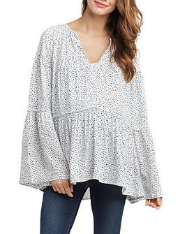Nom Maternity - Josephine Tiered Maternity Top