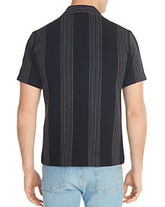Sandro - Striped Knit Slim Fit Shirt