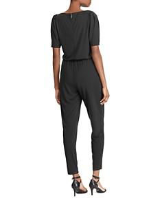 Ralph Lauren - Jersey Puff-Sleeve Jumpsuit