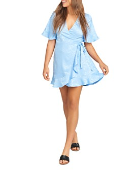 Show Me Your MuMu - Evelyn Mini Wrap Dress