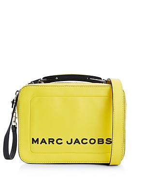 Marc Jacobs Leathers The Box Small Leather Crossbody