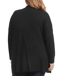 Karen Kane Plus - Maya Convertible Open-Front Cardigan