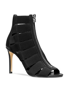 MICHAEL Michael Kors - Women's Margaret Cage High-Heel Sandal Booties