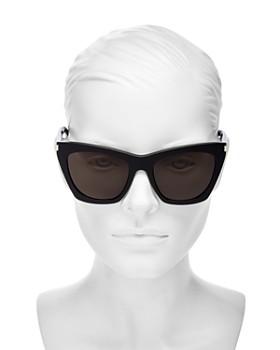 bb85dc39602d ... 55mm Saint Laurent - Women's Kate Cat Eye Sunglasses, 55mm