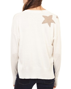 Theo & Spence - Metallic-Star Sweater