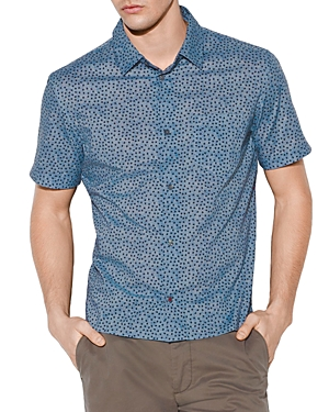 John Varvatos T-shirts TRENT SHORT-SLEEVE REGULAR FIT SHIRT