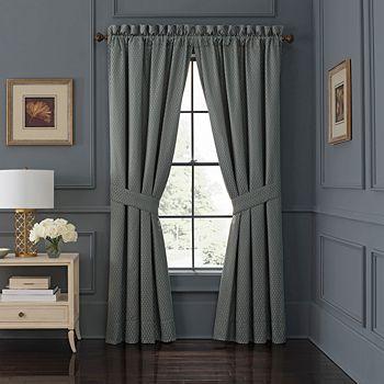 "Waterford - Jonet 50"" x 84"" Window Curtain Panel, Pair"