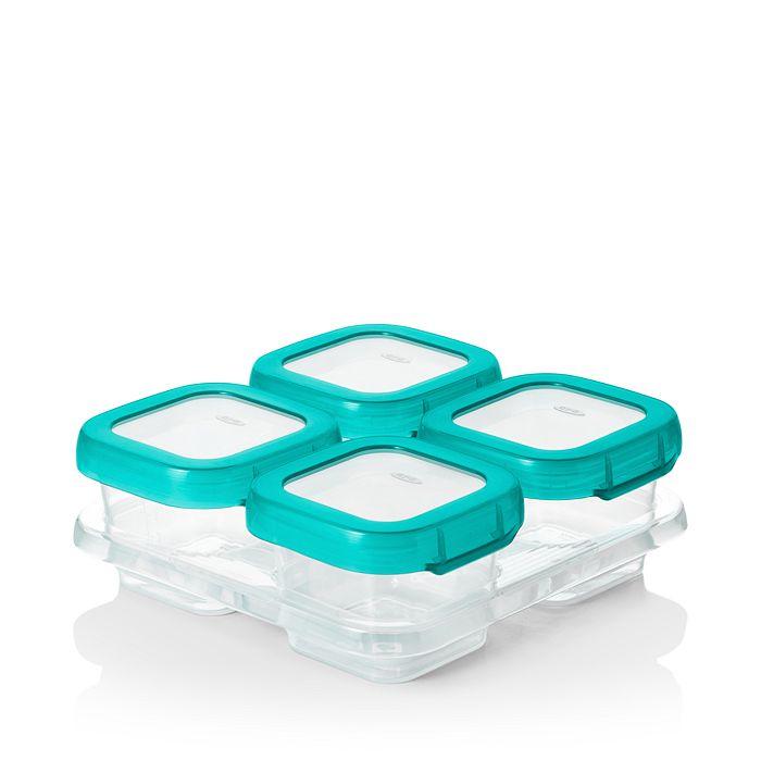 OXO - Tot 4-Piece Baby Blocks Freezer Storage Containers