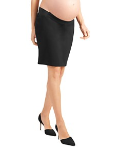 Ingrid & Isabel - Maternity Ponte Knit Pencil Skirt