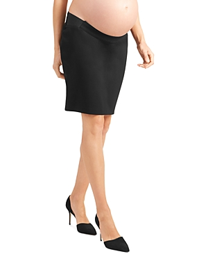 Ingrid & Isabel Knits MATERNITY PONTE KNIT PENCIL SKIRT