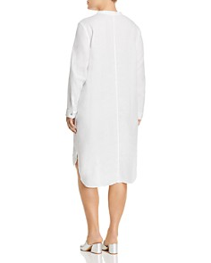 Eileen Fisher Plus - Organic Linen Shirt Dress
