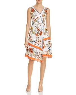 Elie Tahari - Jannele Asymmetric Handkerchief Dress