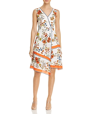 Elie Tahari Dresses JANNELE ASYMMETRIC HANDKERCHIEF DRESS