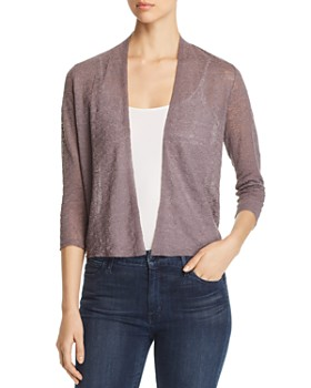 12651c593639 Eileen Fisher - Cropped Open Cardigan ...