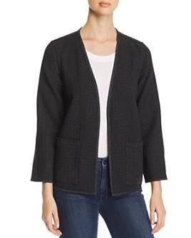 Eileen Fisher - Speckled Organic Cotton Kimono Jacket