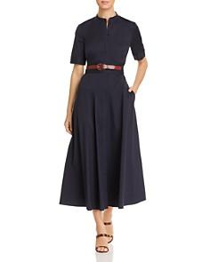 Lafayette 148 New York - Augustina Belted Shirt Dress