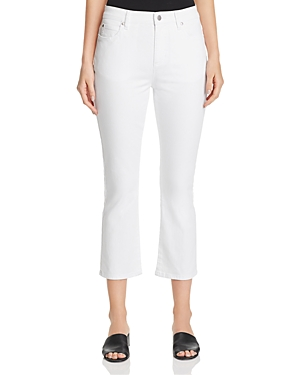 Eileen Fisher Jeans FLARED CROP JEANS IN WHITE