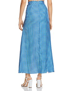 Paper London - Islamorada Silk Ruched Maxi Skirt