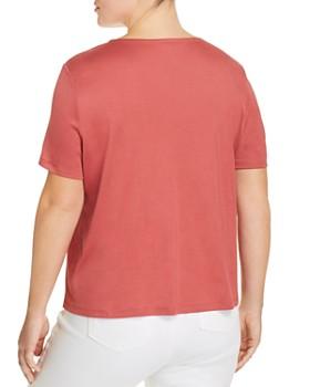 Eileen Fisher Plus - Short-Sleeve Top
