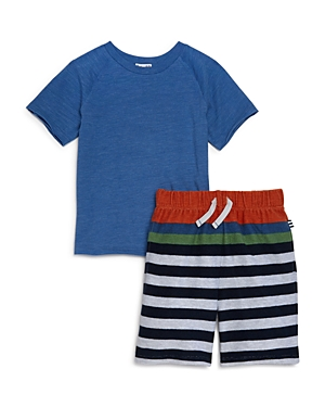 Splendid Boys Tee  Striped Shorts Set  Little Kid