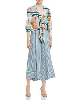 Marella - Gargano Striped Culottes
