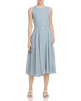 Marella - Tordo Striped Midi Dress