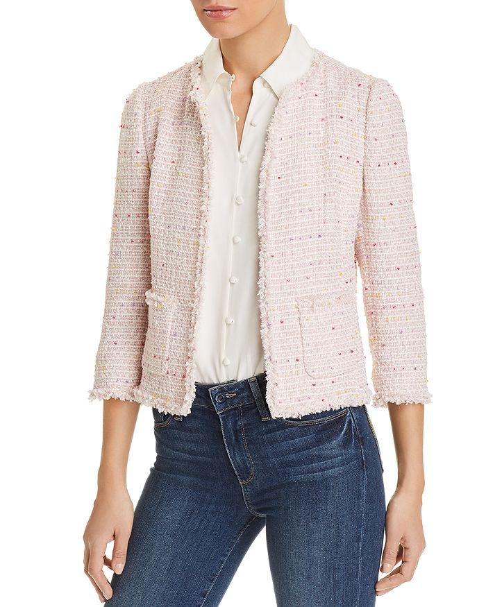 kate spade new york - Open Tweed Jacket