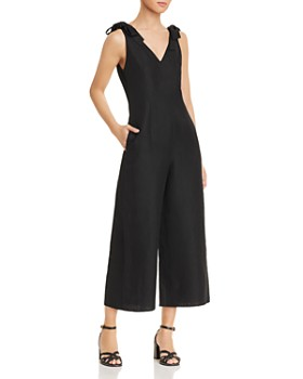 kate spade new york - V-Neck Jumpsuit