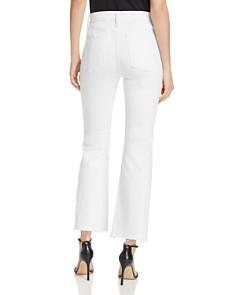 rag & bone/JEAN - Nina Cropped Flared Jeans in White