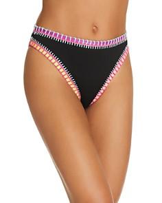 Platinum inspired by Solange Ferrarini - High-Waist Ribbed Bikini Bottom - 100% Exclusive